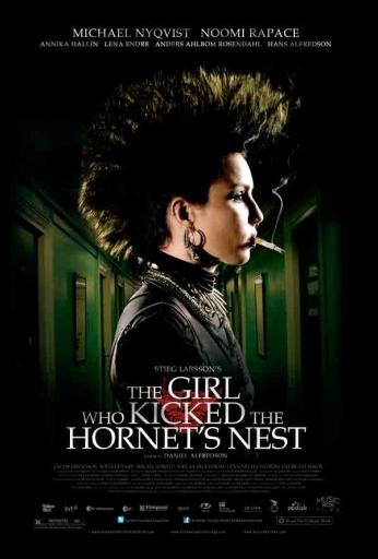 Filme: The Girl Who Kicked The Hornet's Nest (A Rainha do Castelo de Ar, 2009). Direção: Daniel Alfredson. Elenco: Michael Nyqvist, Noomi Rapace, Lena Endre.