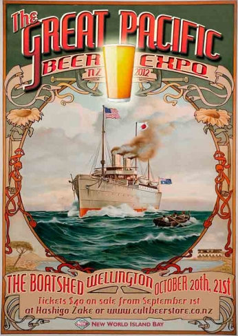 The Great Pacific Beer Expo.