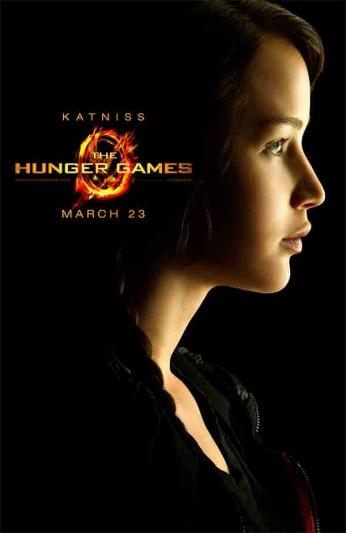 Filme: The Hunger Games (Jogos Vorazes, 2012). Direção: Gary Ross. Elenco: Jennifer Lawrence, Josh Hutcherson, Liam Hemsworth.