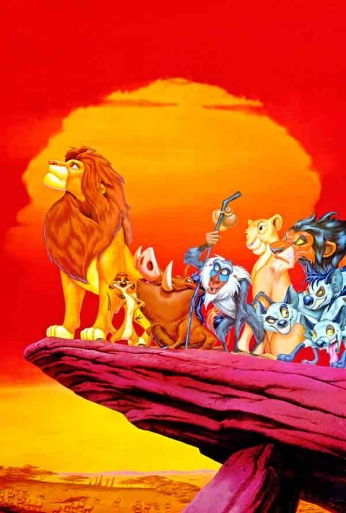 The Lion King - Art Poster