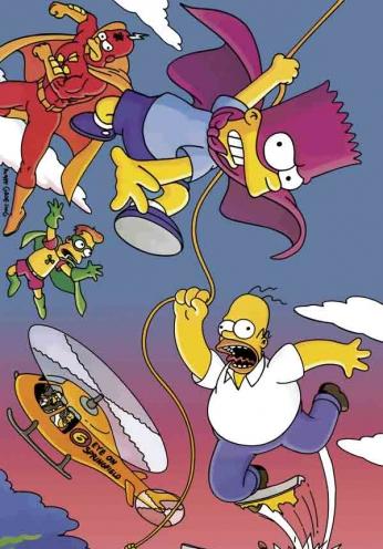 The Simpsons - Bartman