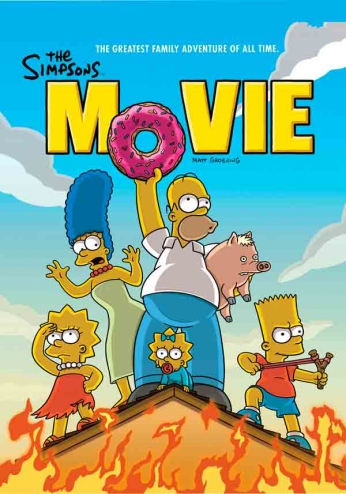 The Simpsons - Movie Poster