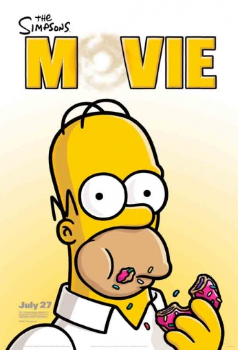 The Simpsons - Movie - Teaser Poster