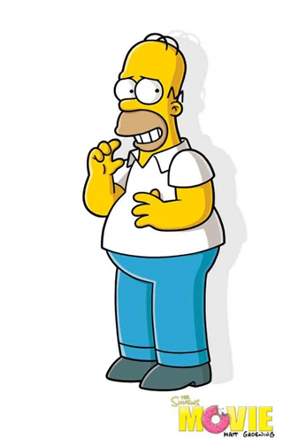 The Simpsons Movie - Teaser Poster - Homer