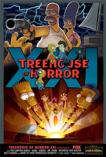 The Simpsons - Treehouse of Horror XXI