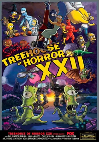 The Simpsons - Treehouse of Horror XXII