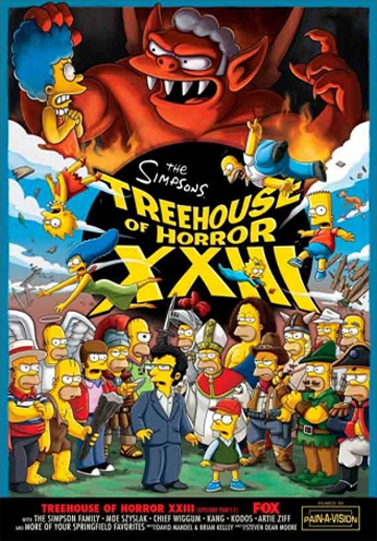 The Simpsons - Treehouse of Horror XXIII