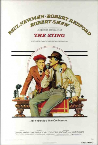 Filme: The Sting (Golpe de Mestre, 1973).
