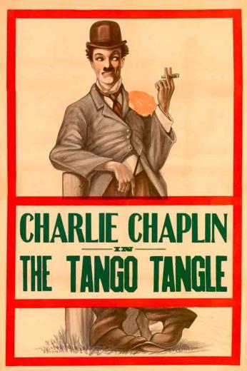 "Filme: The Tango Tangle (1914). Direção: Mack Sennett. Elenco: Charles Chaplin, Ford Sterling e Roscoe ""Fatty"" Arbuckle."