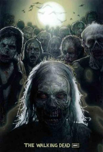 The Walking Dead - Zombie Poster