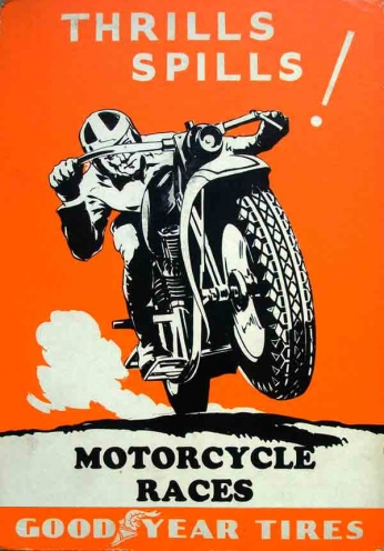 Thrills Spills Motorcycle Races