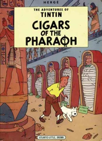 Tintin - Cigars of the Pharaoh