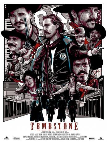 Tombstone Movie Fan Poster 02.