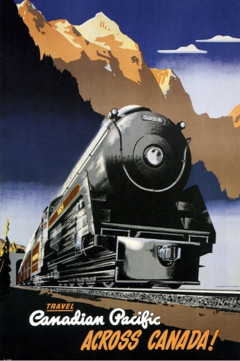 Travel - Canadian Pacific - Across Canada