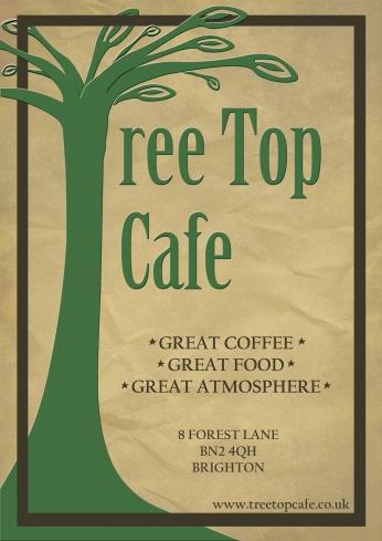 Tree Top Café Poster