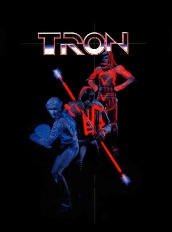 Tron - Art Poster