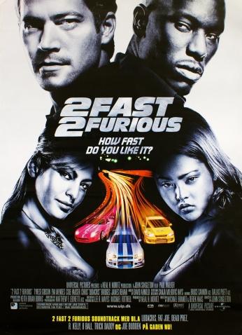 Velozes e Furiosos Fast and Furious 2 Teaser Poster 02.