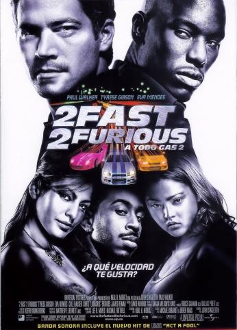 Velozes e Furiosos Fast and Furious 2 Teaser Poster.