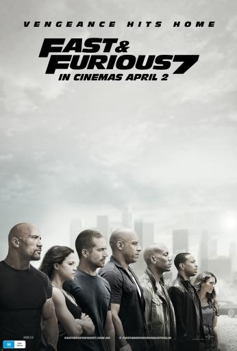 Velozes e Furiosos Fast and Furious 7 Teaser Poster.