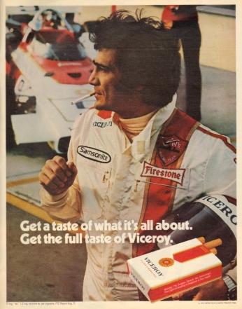 Poster Viceroy, April 1972.