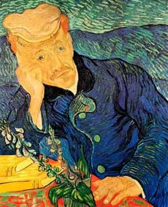 Vincent van Gogh - Retrato de Dr Gachet