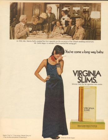 Virginia Slims, April 1972