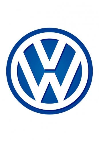 Volkswagen Logo Blue