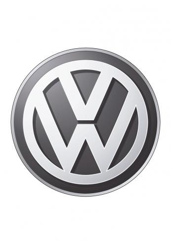 Volkswagen Logo 3D Black