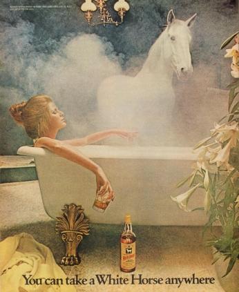 Poster White Horse, April 1972.