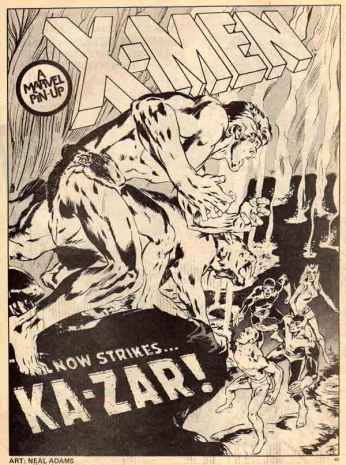 X-Men - Now Strikes...Ka-Zar