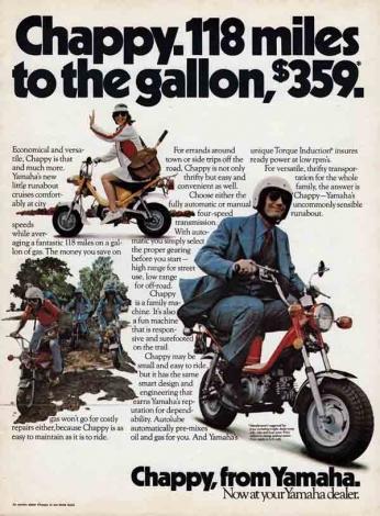 Yamaha Chappy - 1973