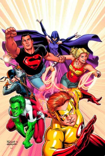 Young Justice - Formation