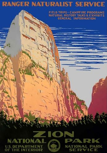 Zion National Park - 1938